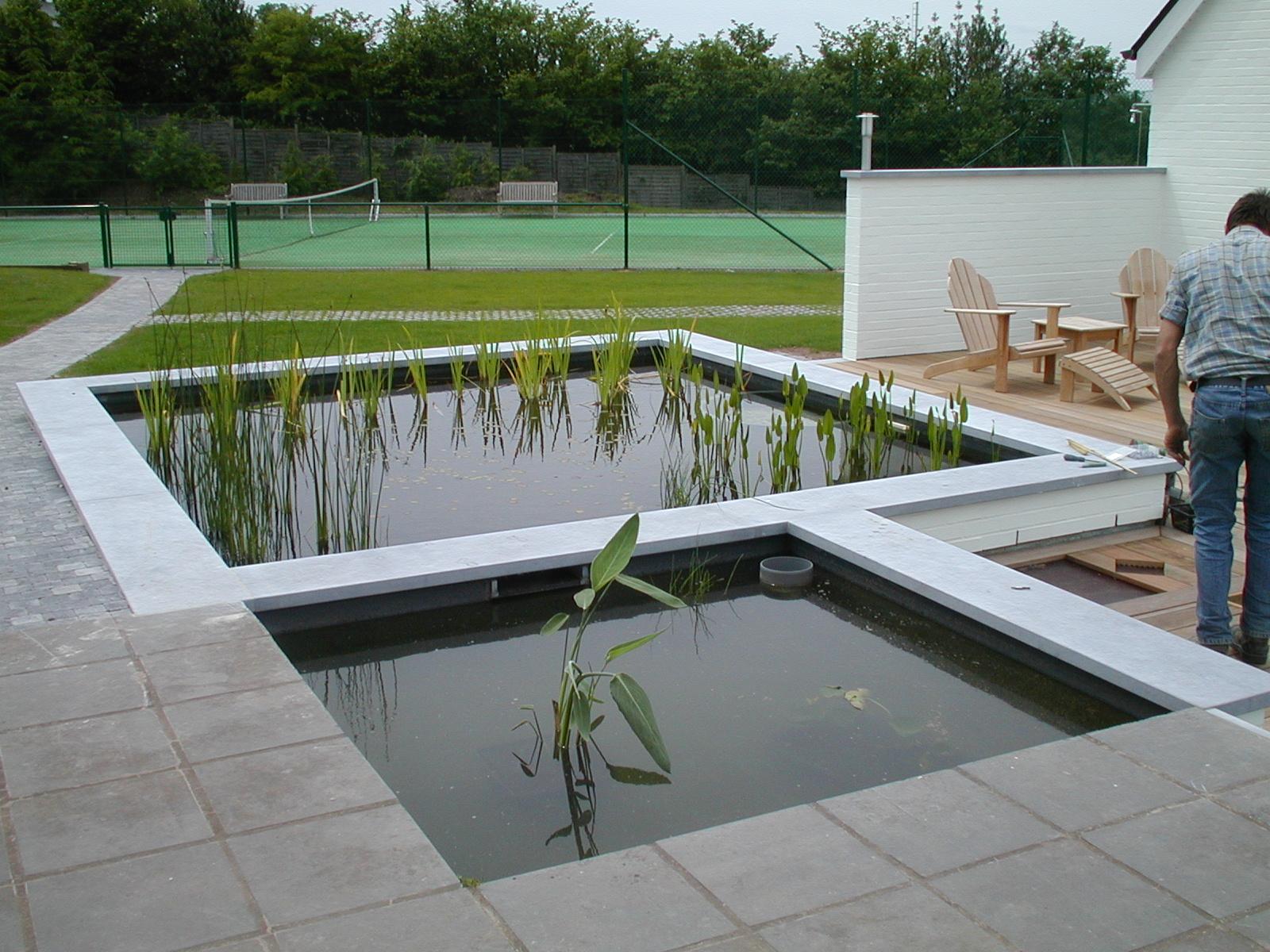 piscine d eau naturelle aquatic design concept et garden. Black Bedroom Furniture Sets. Home Design Ideas