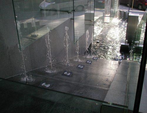 Fontaine et jeux d'eaux