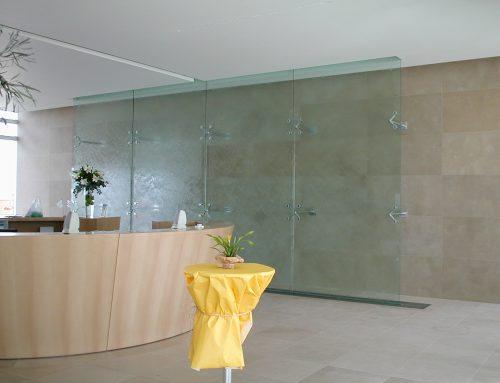 Mur d'eau en intérieur