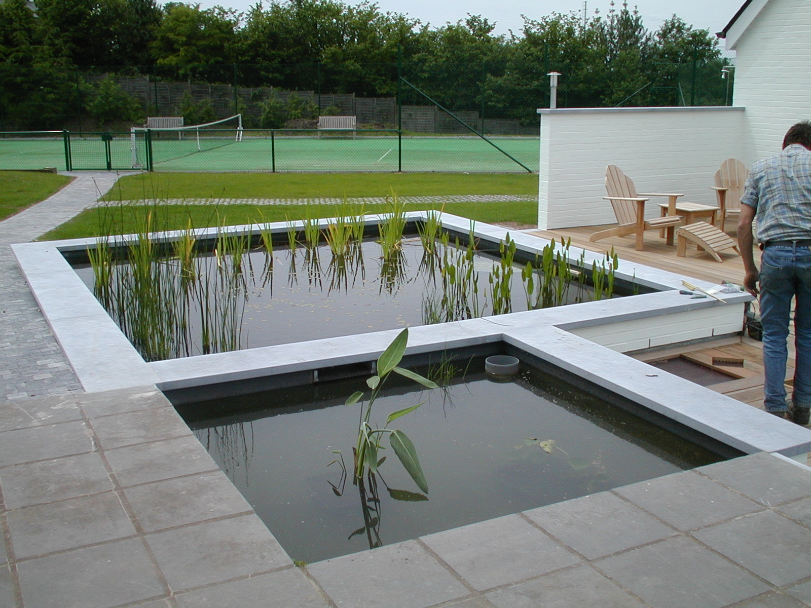 Piscine d eau naturelle aquatic design concept et garden for Piscine naturelle design