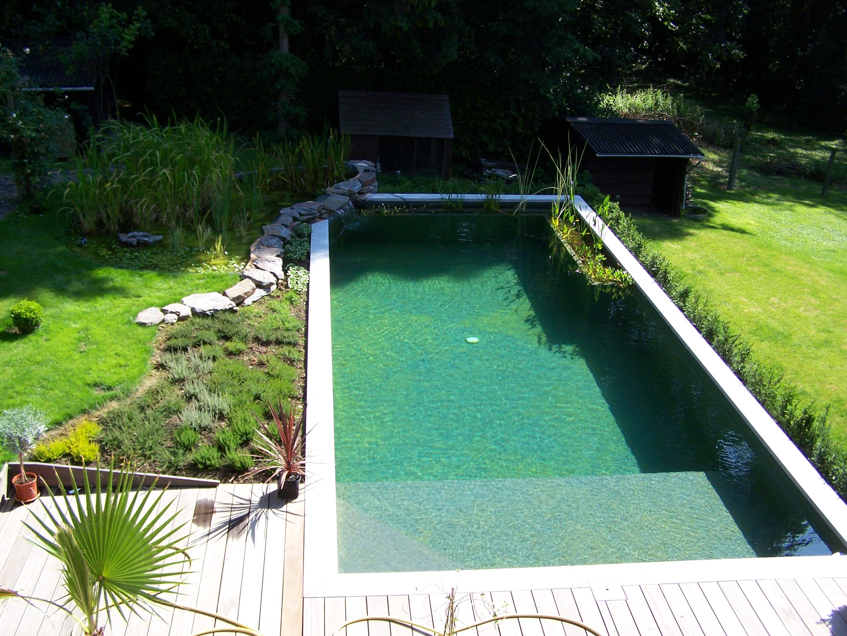 Etang De Baignade Aquatic Design Concept Et Garden
